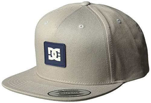 DC Men's Snapdoodle Snapback Trucker Hat, Glacier Gray, 1SZ - Dc Mens Baseball Hat