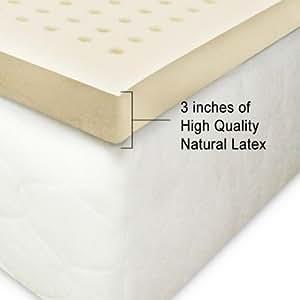 1 100 natural latex mattress topper