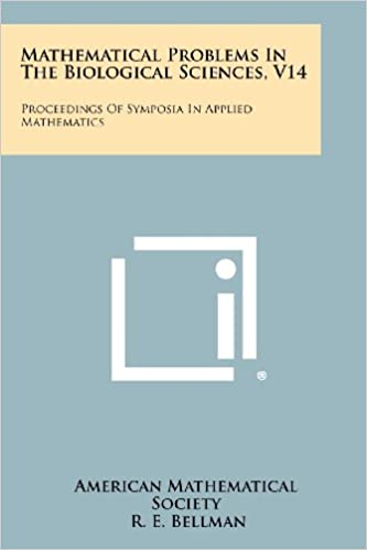 Mathematical Problems in the Biological Sciences, V14: Proceedings of Symposia in Applied Mathematics