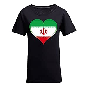 Brasil 2014 FIFA World Cup Theme Short Sleeve T-shirt,Football Background Womens Cotton shirts for Fans Black
