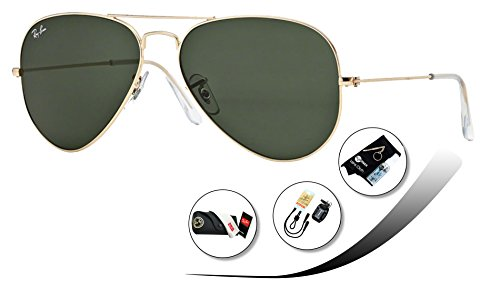 RB3025 58 mm (Gray Green lens - L0205 Rb3025 58 Ray Ban