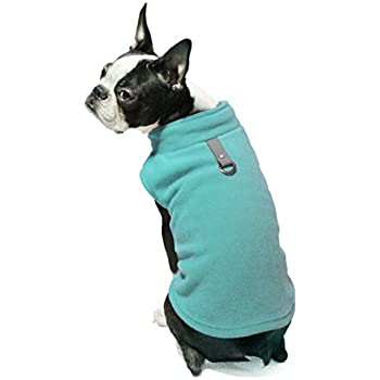 Gooby Every Day Fleece Cold Weather Dog Vest for Small Dogs, Turquoise, X-Small