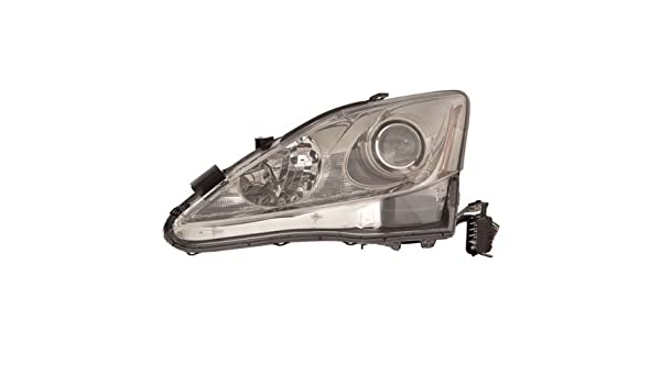 FOR 2006-2008 LEXUS IS250 Driver Side Head Light Lamp W//O AUTO LEVEL HALGEON