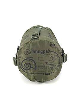 SnugPak Softie - Elite 1 Saco de Dormir, Unisex, Verde Oliva: Amazon.es: Deportes y aire libre