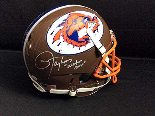 Lawrence Taylor Sclsu Mud Dogs Water Boy Autographed Signed Autograph Full Size Rep Helmet Coa JSA Authentic