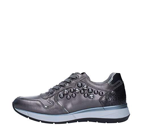 Donna Nero Grigio A806580d Giardini Sneakers W11XSY