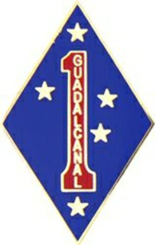 U.S. Marine Corps 1st Marine Division Lapel Pin or Hat ()