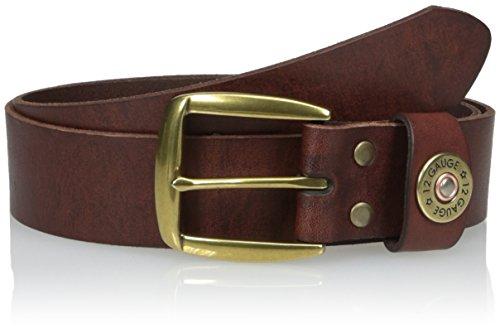 Nocona Belt Co. Men's Bullet Keeper, Brown 36