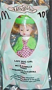 Madame Alexander Doll - Lady Bug Girl - McDonald's 2003 #10