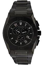 Jacob Time KC9300 Kenneth Cole New York Black Ip Chronograph Mens Watch