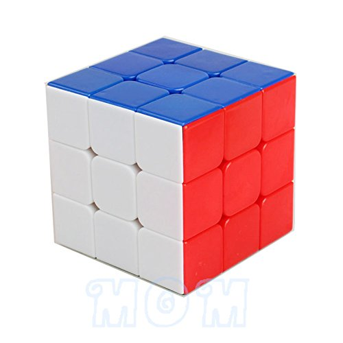 AOGOOD Magic Cube Professional 3x3x3 Rainbow Cubo Magico Puzzle Speed Classic Toys Learning & Education For children