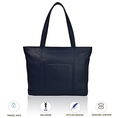 ed8f1bab2b Galleon - Leather Crossbody Purse For Women- Premium Crossover Cross Body  Bag Over The Shoulder Luxury Womens Purses And Handbags (Navy Shoulder)