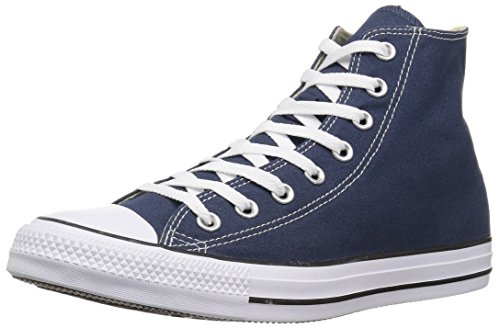 Converse Chuck Taylor All Star High Top Sneakers (7 B(M) US Women/5 D(M) US Men, Navy)