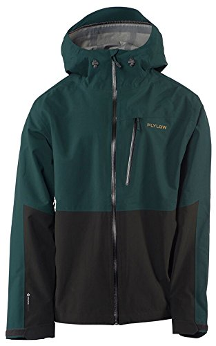 Flylow Higgins Jacket - Men's Trawler/Black Medium - Stormshell Jacket