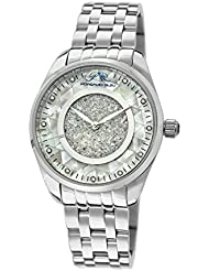 Porsamo Bleu Lauren Stainless Steel Silver Tone Womens Diamond Watch 771ALAS