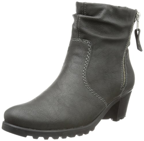 Rieker Y8061 Damen Stiefel Grau (cenere 43)