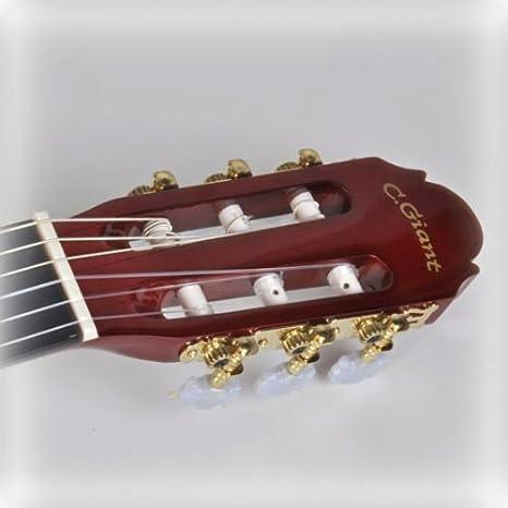 C. GIANT – Guitarra de conciertos, getönte tilo: Amazon.es ...