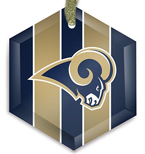St. Louis Rams NFL 02 Cyrstal Christmas Ornament