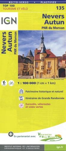NEVERS AUTUN Carte – 18 mai 2018 COLLECTIF IGN 2758543737 Karten / Stadtpläne / Europa