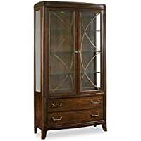 Hooker Furniture Palisade Display China in Walnut