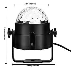 41WTMc7WT2L. SS300  - Discokugel-Disco-Licht-Disco-Lichteffekte-Disco-Lampe-Disco-Beleuchtung-Partylicht-Partybeleuchtung-Bhnenbeleuchtung-DJ-Licht-mit-Motor-Fernsteuerung
