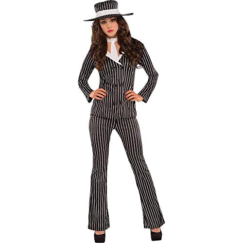 Adult Mob Wife Costume - Large (10-12) ()