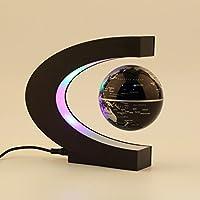 YANGHX Floating Globe 3 inch with LED Lights C Shape
