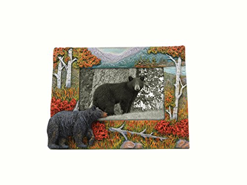 Young's Resin Bear 4 x 6'' Frame, 8.75'' x 6.5'' x 1.25'' by Young's