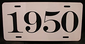 1959 LICENSE PLATE Ford Chevy Dodge Plymouth Buick Olds DeSoto Streetrod Rat rod