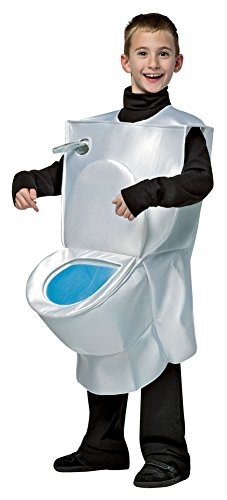 BESTPR1CE Boys Halloween Costume-Toilet Kids Costume Medium 7-10]()