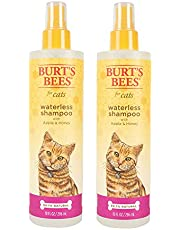 Burt's Bees for Cats FFP7297AMZ2 All-Natural Waterless Spray Shampoo with Apple and Honey, 10 Ounces, Pack of 2