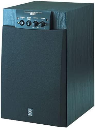 Yamaha YST-SW105 Natural Sound Subwoofer with Built-in 100 Watt Amplifier