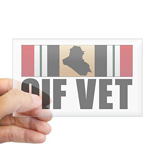 Iraqi Freedom Medal (CafePress - Operation Iraqi Freedom Veteran Sticker - Rectangle Bumper Sticker Car Decal)