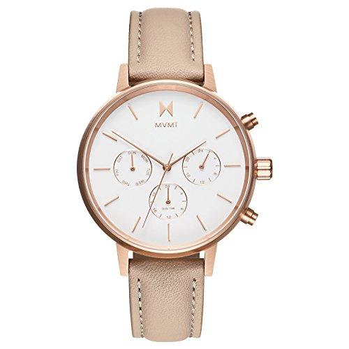 (MVMT NOVA Watches | 38MM Women's Analog Watch Chronograph | Luna)
