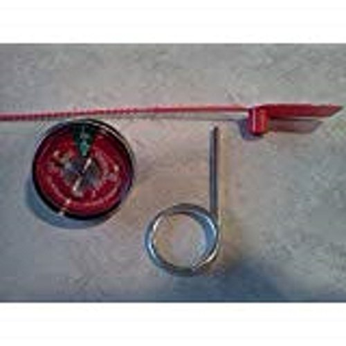 5 - 100 psi. Pressure Gauges, 5 - Seals & 5 - Pull Pins For Water Pressure Fire Extinguishers by BigDavesYardSale (Image #1)