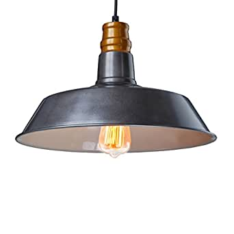 Ecopower Industrial Barn Mini Metal Pendant Light 1 Light