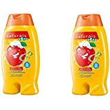 Avon Naturals Kids Amazing Shampoo and Conditioner, Apple 250 ml pack of 2