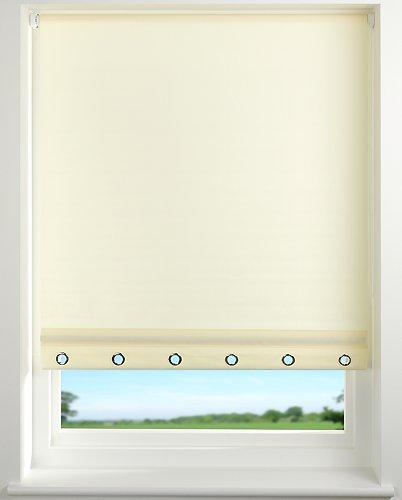 Harrison Drape Eyelet Roller Blind 60, 90, 120 & 180 widths x 160cm Drop Cream (60cm width)