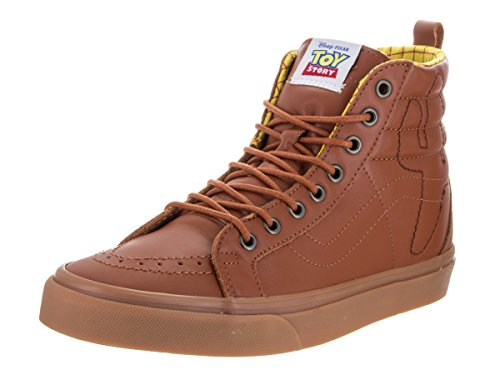 VANS SK8-Hi Reissue PT Disney-Pixar Toy Story Leather Woody Sneaker VN0A2XS3M4Z Unisex Shoes (Toy Story) Woody/True White tSMSMB