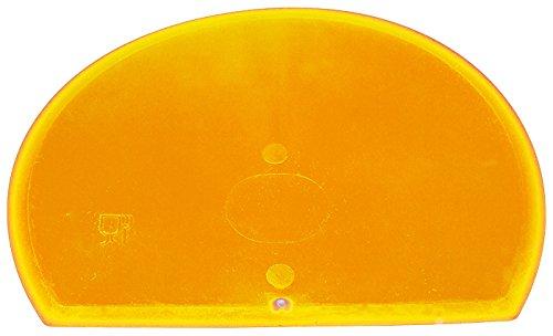 Maya 71916 - Espátula Flexible Redonda, Metal Detectable y Rayos X, 160 x 125 x 1,65 mm, Amarillo: Amazon.es: Industria, empresas y ciencia