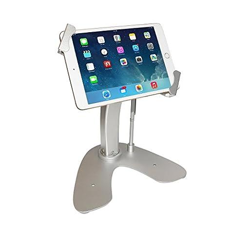 CTA Digital Universal Anti-Theft Security Kiosk & POS Stand for Tablets - iPad, iPad Air 2, iPad mini 4, Galaxy Tab, Note 10.1, 7-10-inch tablets (Android Kiosk)