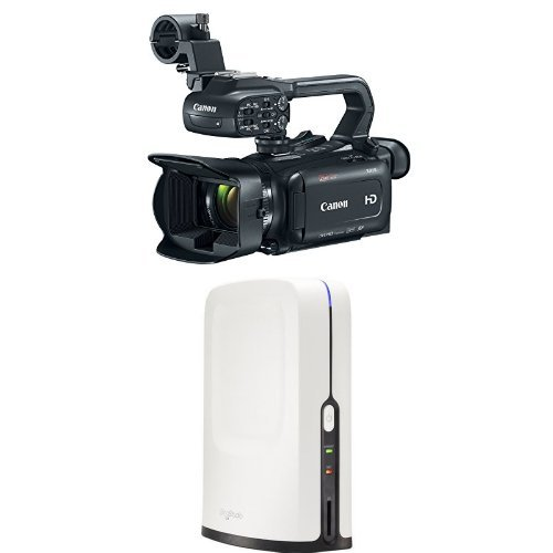 Canon XA15 Professional Camcorder with HD Video Switcher for Multi-Camera Production, and Live Streaming