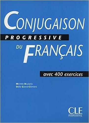 Buy Conjugaison Progressive Du Francais Livre Book Online