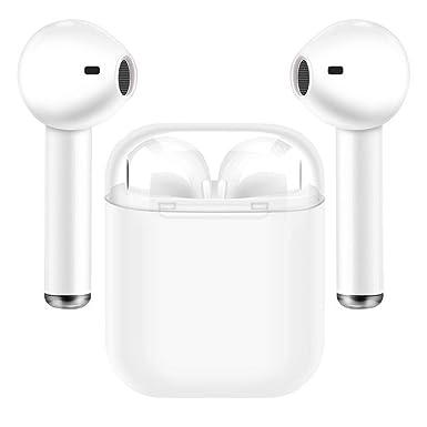 Auriculares inalámbricos Bluetooth,Auriculares Bluetooth In-Ear Mini Auriculares inalámbricos Deportivos con Caja de