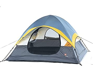 Swiss Gear 7 by 7-Foot Three-Person Sport Dome Cheval Tent  sc 1 st  Amazon.com & Amazon.com : Swiss Gear 7 by 7-Foot Three-Person Sport Dome Cheval ...