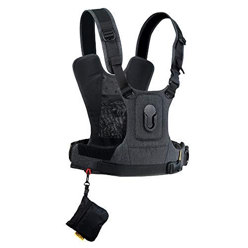 Cotton Carrier CCS G3 Camera Harness System for One Camera - Grey [並行輸入品]   B07TX9YZSK