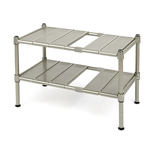 Seville Classics Expandable Under-Sink Shelf with steel