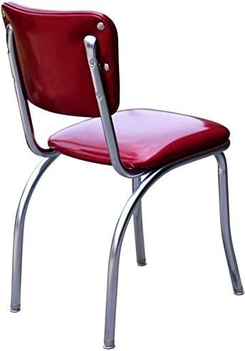 Richardson Seating Retro Chrome Kitchen Chair
