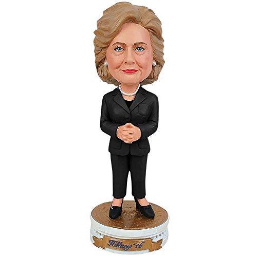 Hillary Clinton 2016 Bobblehead Bobber Standing On Presidential (Bobble Head Costume Make)