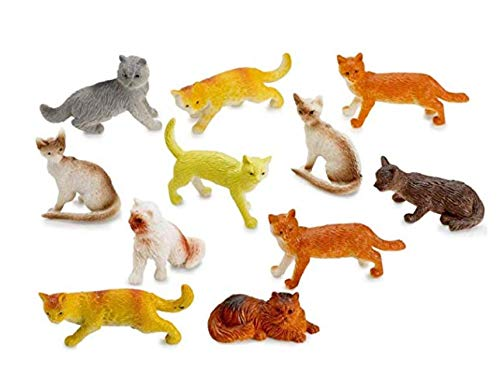 Cat Figurines 2 Dozen (24) 1.5